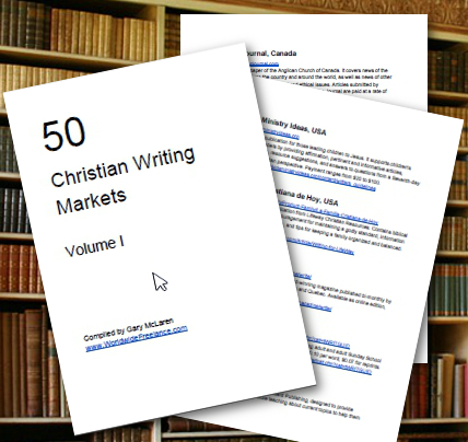 christian freelance writing After taking six classes through the christian pen, i launched my freelance editing business in april, 2007 by october, i had enough editing clients to quit my day.